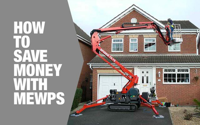 Save money with MEWPs