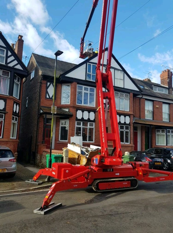 wind damaged roofs in Manchester repairs
