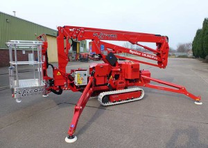 spider platform access machine