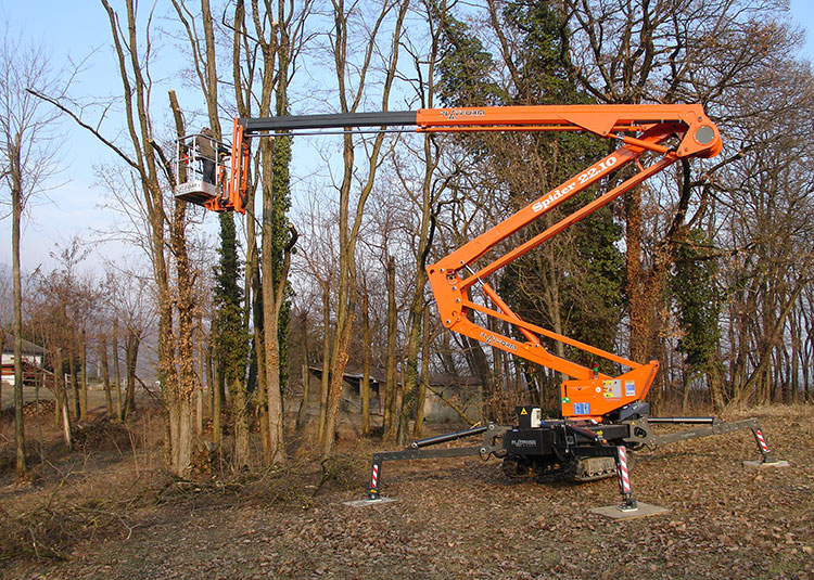 Forestry access platform - Spider 22.10