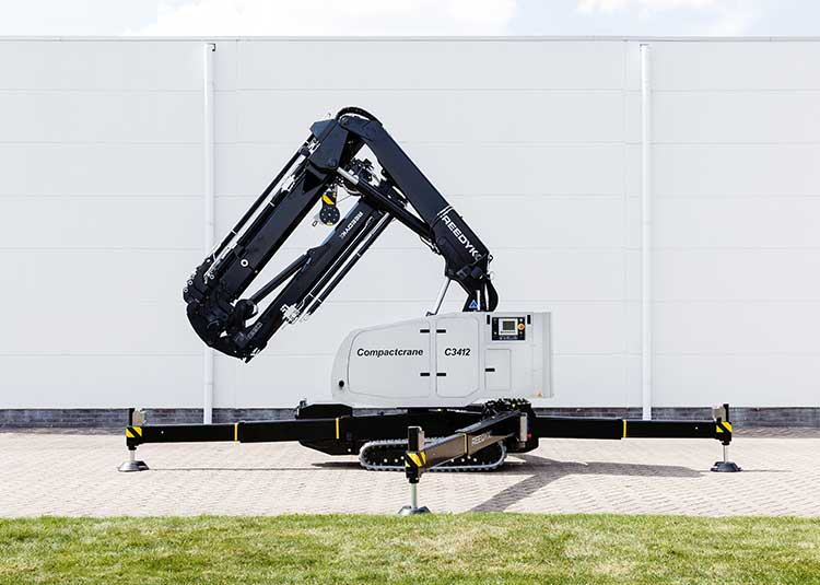 Reedyk C3412 compact crane