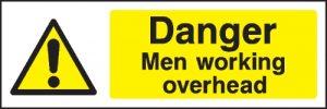 mewp risk assessment danger sign