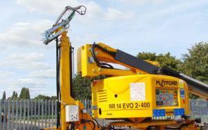 RR14 EVO-2/400 Pantograph on Machine