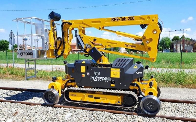 RR9/200 Spider/Rail MEWP
